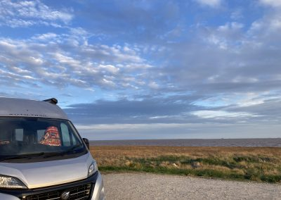 Cycling the coast of Britain       (and hiking and vanning) April 2021 – the restart